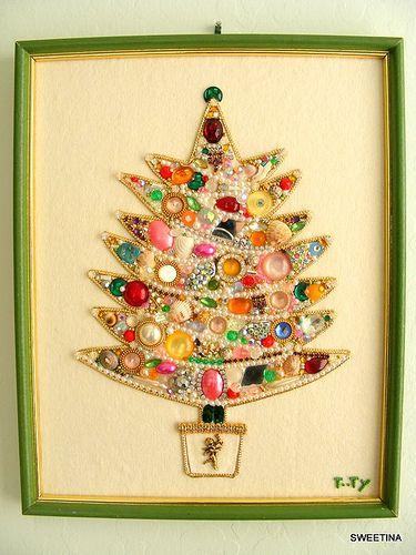 Jewelry christmas tree christmas home decoration pinterest