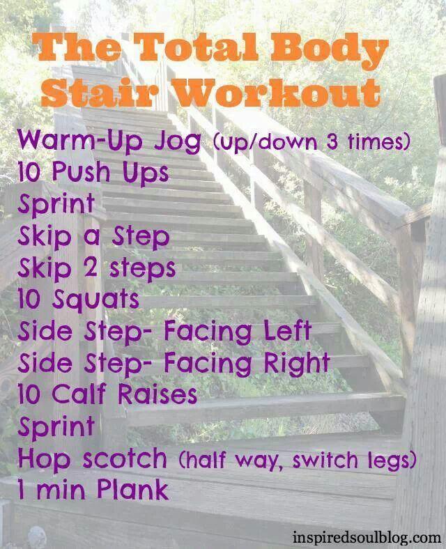 stair workout | fitness | Pinterest