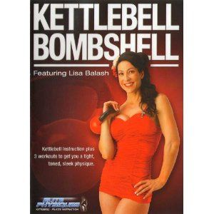 Female figure model Lisa Balash knows what  | Kettlebell Fitness T