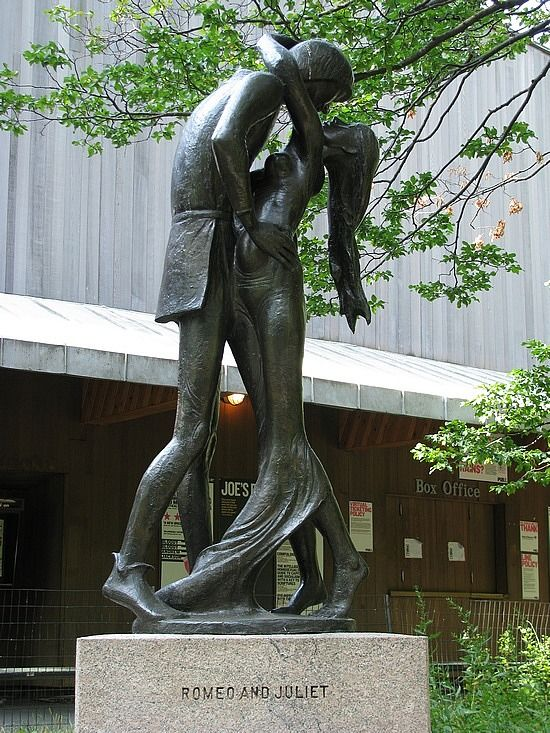 Romeo and Juliet Statue - Central Park | Places and Spaces ...