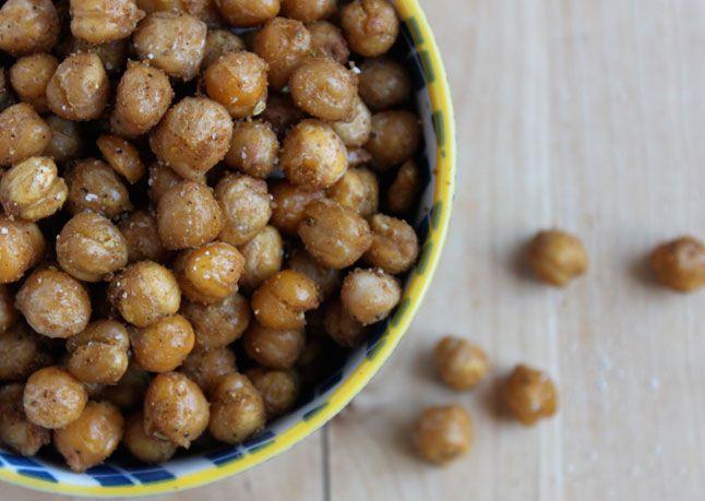 Crispy Spiced Chickpeas from Bon Appetit (http://punchfork.com/recipe ...