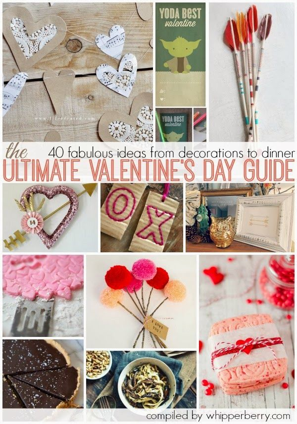 From Decorations to Dinner 40 FABULOUS Valentines Day Ideas - Whipperberry