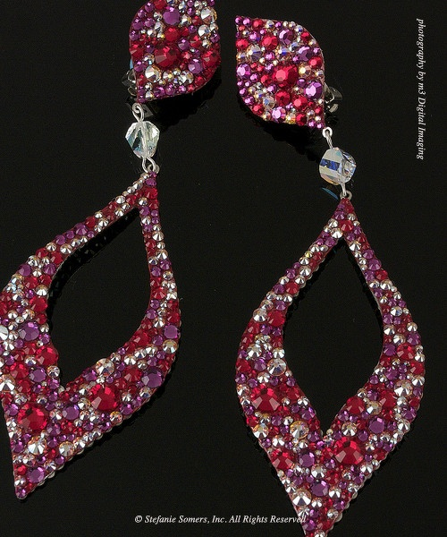 Love these! They're in the shape of diamonds!