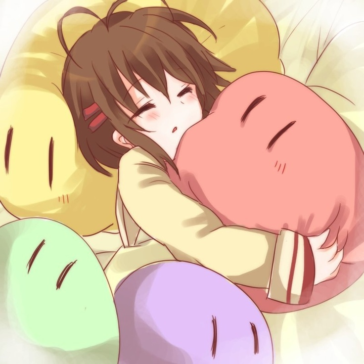 Ushio and Dango Family from Clannad | The Big Dango Family ...