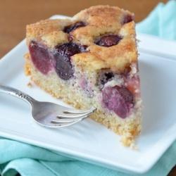 Cherry Almond Cake | Sweet Treats | Pinterest