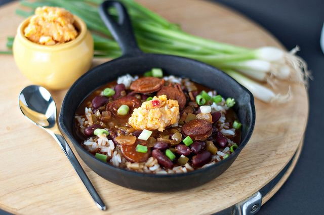 Red Beans and Rice with Pimento Cheese | Recipes! | Pinterest