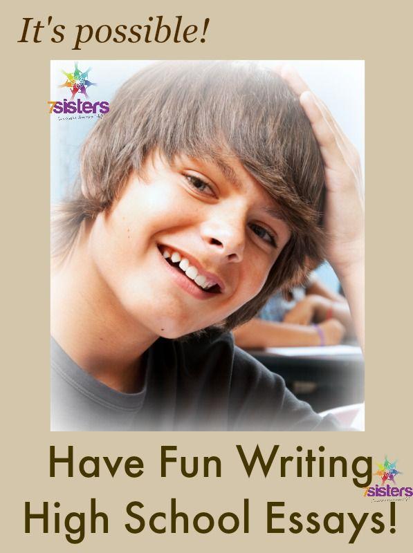 Write my fun essay topics for high school