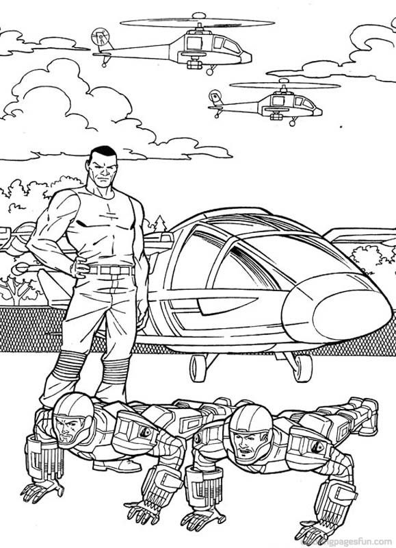 g i jow coloring pages - photo#48