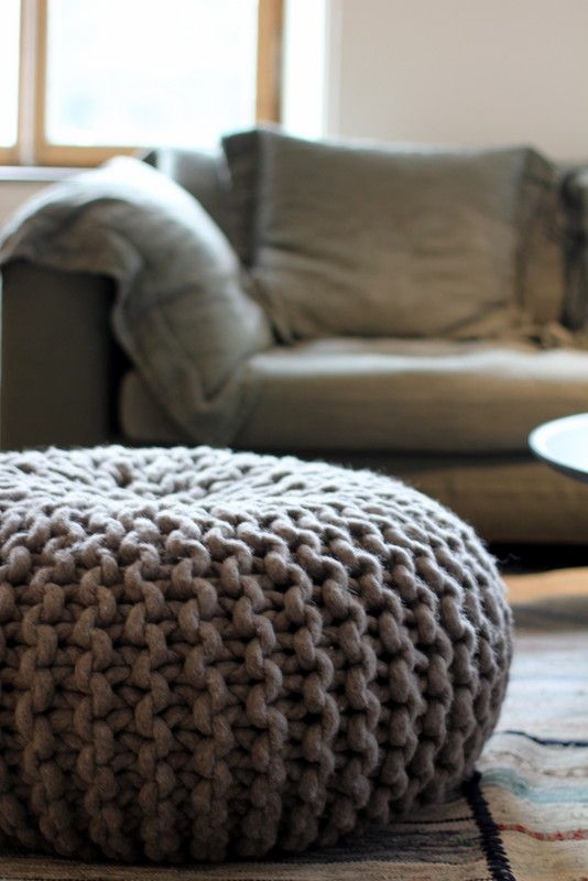Woolen tabouret #tabouret #homedecor #furniture