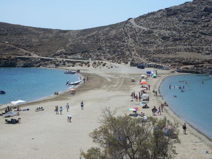 Kolona beach, Kythnos island  beach  Pinterest