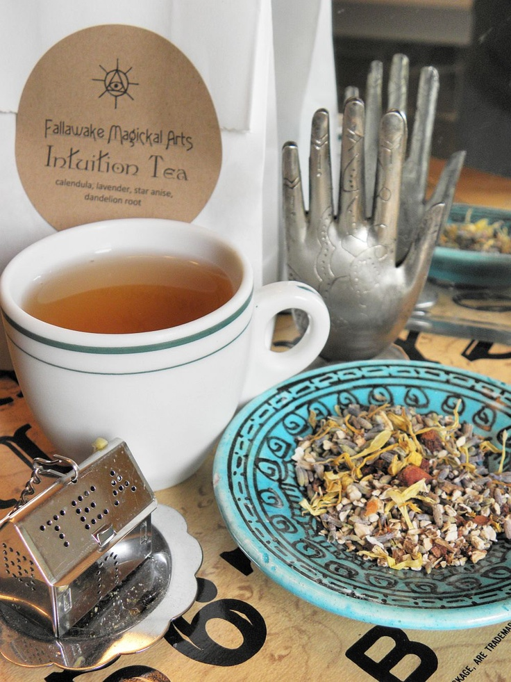 Intuition Herbal Tea for Psychic Enhancement (Makes 32 cups). $5.95, via Etsy.