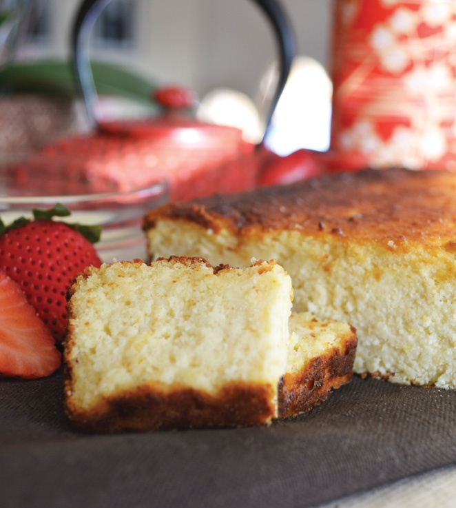 RECIPE: LEMON-RICOTTA SQUARES. Reduce fat – but not flavour – with ...