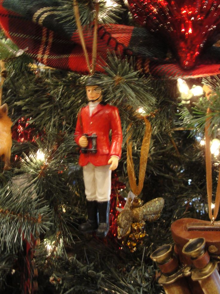 Equestrian Christmas decor