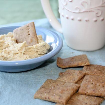 ... one! Gluten Free MultiGrain Crackers ~Katie www.livinghappilywhole.com