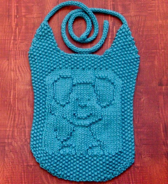 Infinity Scarf Free Knitting Patterns : Knitted Baby Bibs Grandmas Baby Knits Pinterest