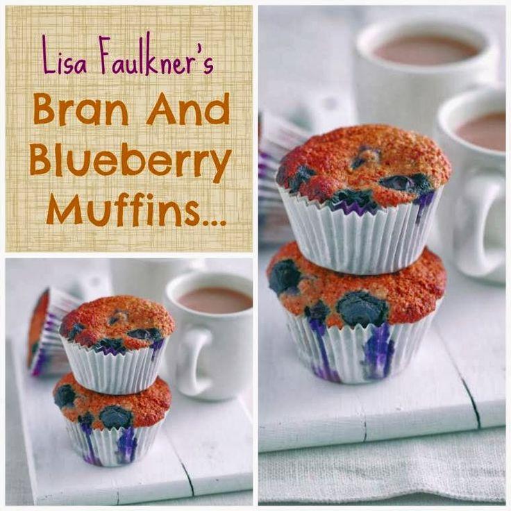 ... Style Blog | Nottingham: Lisa Faulkner's Bran And Blueberry Muffins