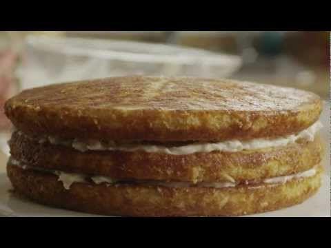 How to Make Delicious Italian Cream Cake   Cakes   Pinterest