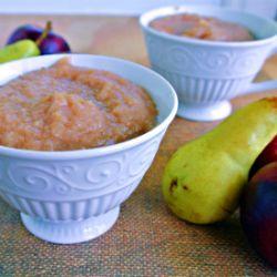 Pear Applesauce | Food / Cooking / Baking | Pinterest