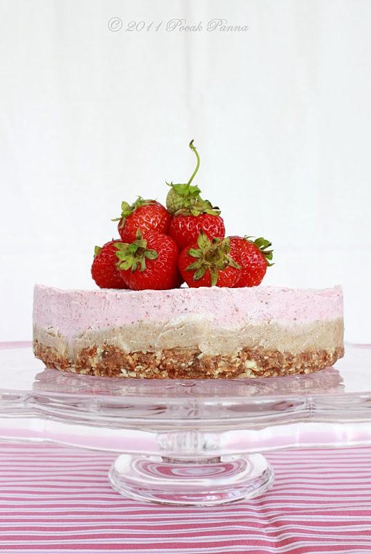Raw Almond-Strawberry Cheesecake Dream | Primal/Paleo Recipes | Pinte ...