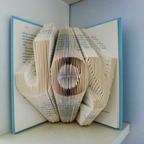 Folded Book Art By Luciana Frigerio Folded Book Art
