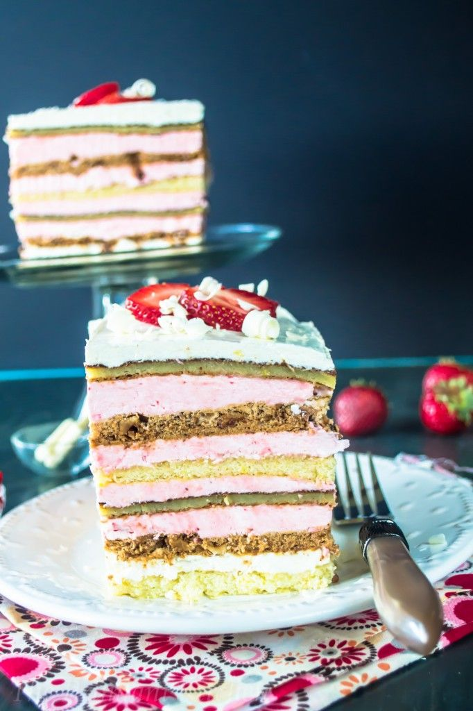 ... strawberry buttercream, white chocolate souffle.... oh, BRING IT ON