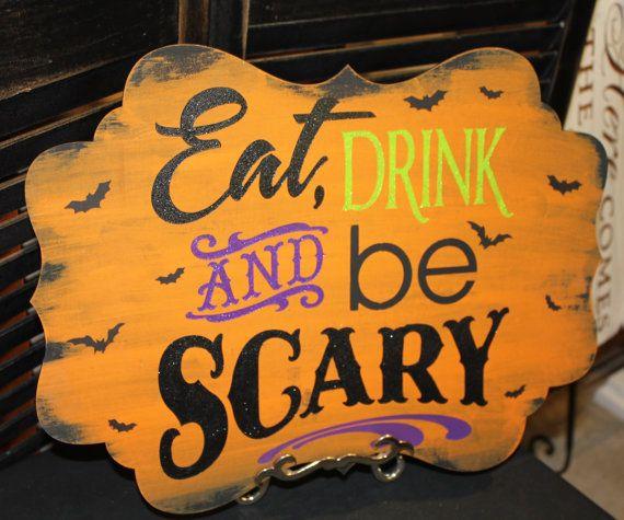 halloween creepy signs