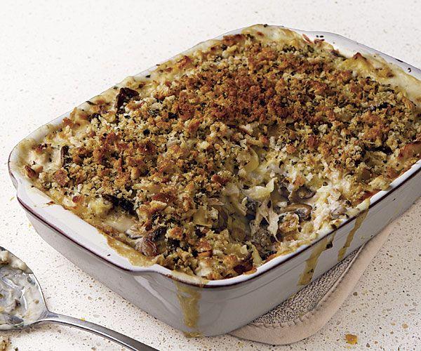 Turkey Noodle Casserole recipe | Housewifery | Pinterest