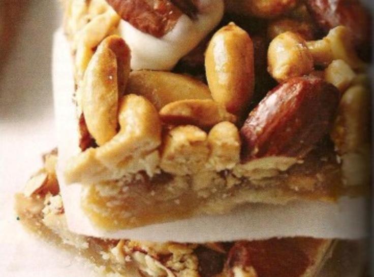 Maple Nut Pie Bars