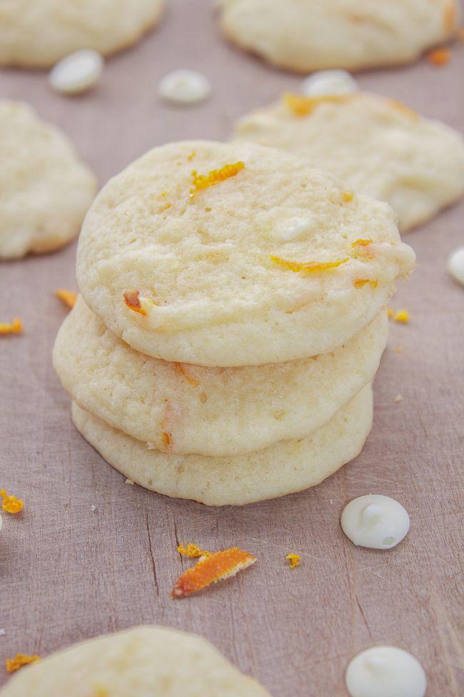 White Chocolate Orange Cookies Recipe — Dishmaps