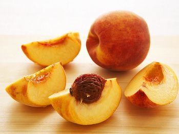 """Baked Peaches with an Almond Crust"""" from Cookstr.com #cookstr"""