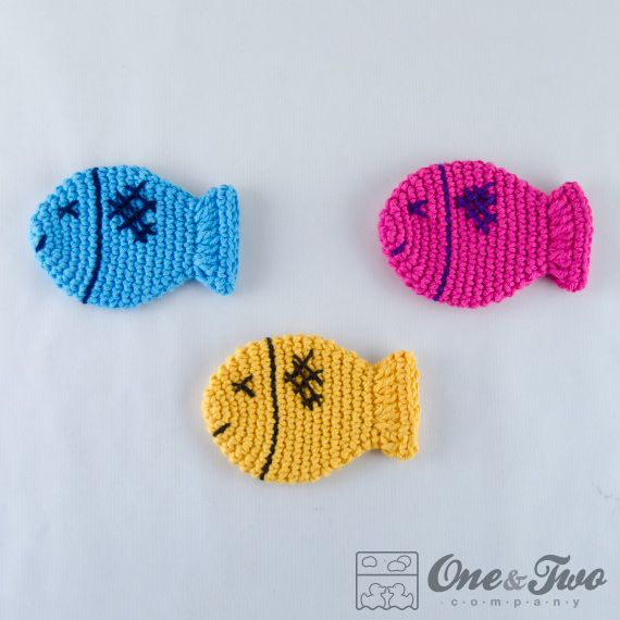 Free Crochet Fish Coaster Pattern : Pin by Donna Coulter-Gorske on Crochet - Misc Pinterest