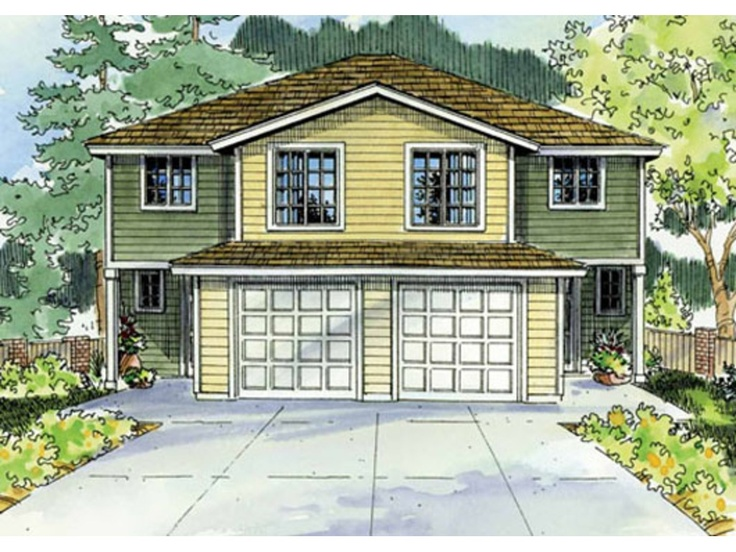 22 Beautiful Townhouse Duplex Plans House Plans 59153