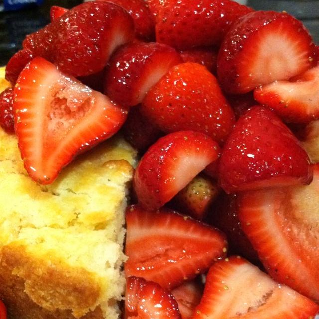 Old fashioned strawberry shortcake | Desserts | Pinterest