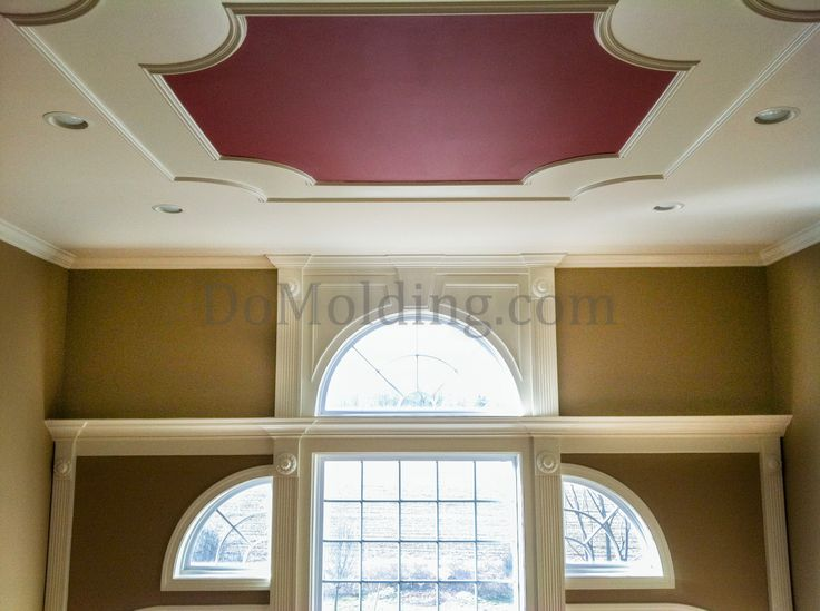 Ceiling molding design for the home pinterest