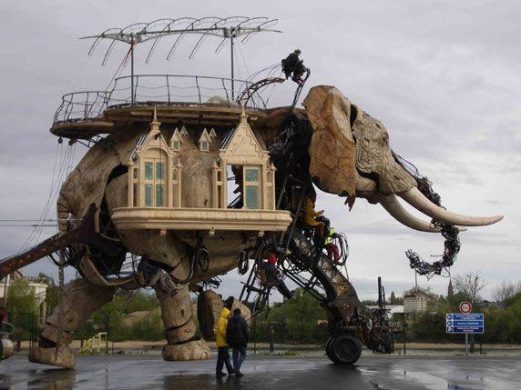 Le Grand Eléphant_Nantes | Naturalia | Pinterest