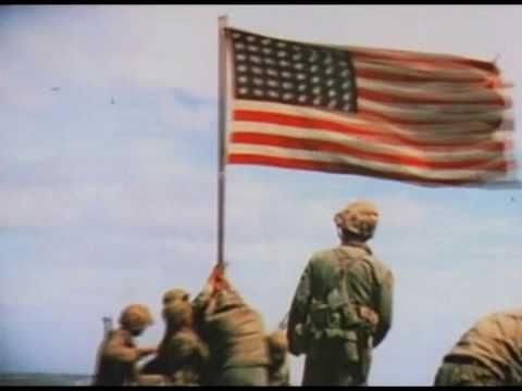 american flag 1945