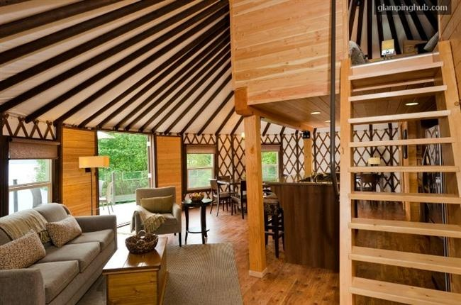 high end yurt rental vancouver island bc retired pinterest. Black Bedroom Furniture Sets. Home Design Ideas