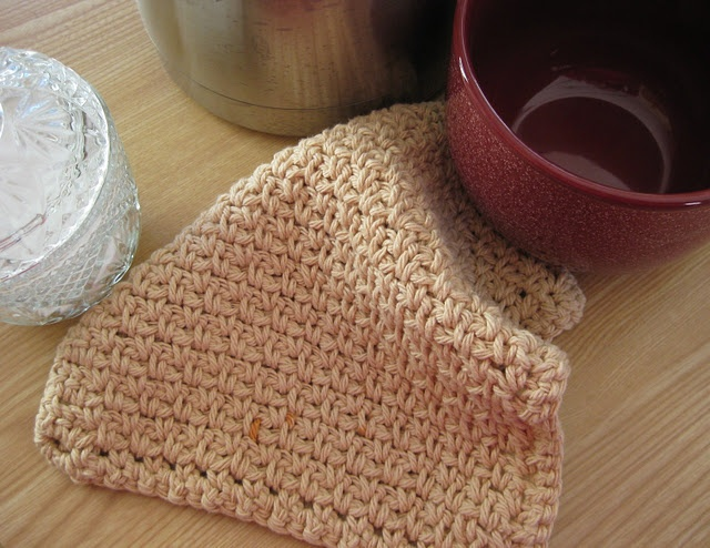 Crocheting Dish Rags : Clothes