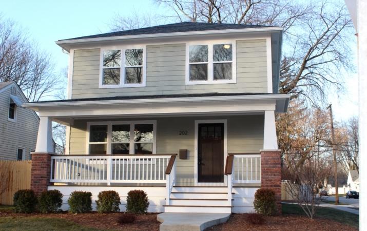 Modern craftsman style home designs pinterest for Home designs pinterest