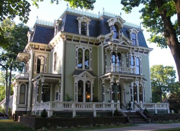 Common architectural styles second empire my blog for Common architectural styles