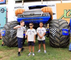 Boy Scouts invited to the Circle K Back-to-School Monster Truck Bash - This year marks the seventh-consecutive camporee at the speedway and several Boy Scout troops and Cub Scout packs have made it out every year to enjoy the metal-mashing machines at the Monster Truck Bash before heading over to the infield of the legendary 1.5-mile superspeedway. So far more than 70 scouts have signed up.