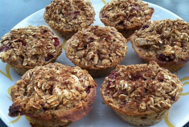 Wild Strawberry Banana Oatmeal Muffins. Planning to modify this a ...