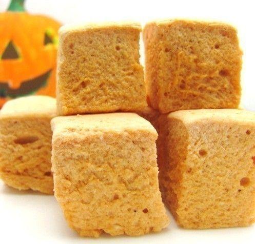 Pumpkin spice marshmallows :) Don't really like marshmallows, but ...