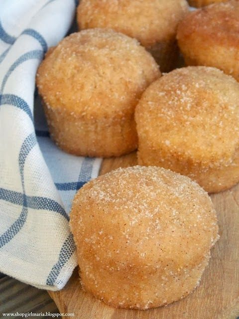 Cinnamon Doughnut Muffins | Wicks n Wax Loves Food | Pinterest