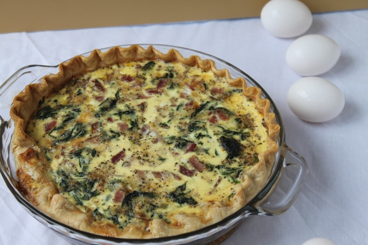 yummly easy spinach and gruyere quiche spinach and gruyere quiche 2 ...