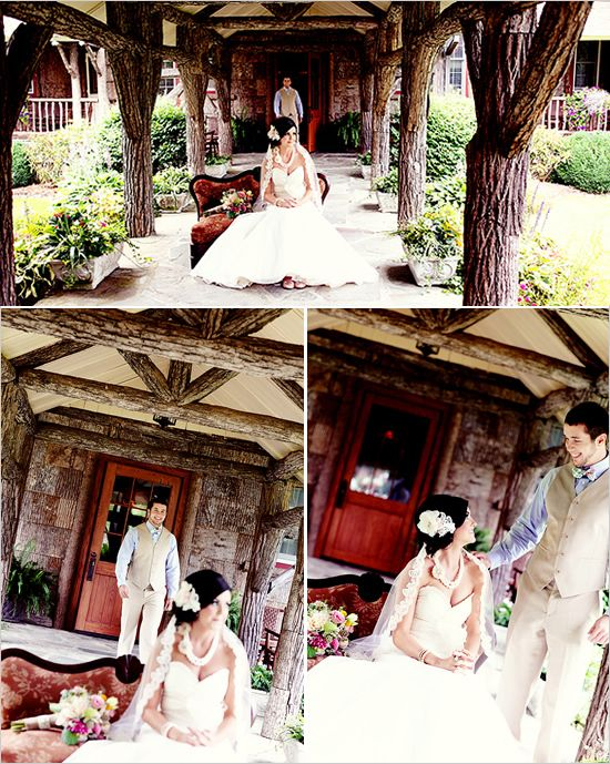 first wedding look