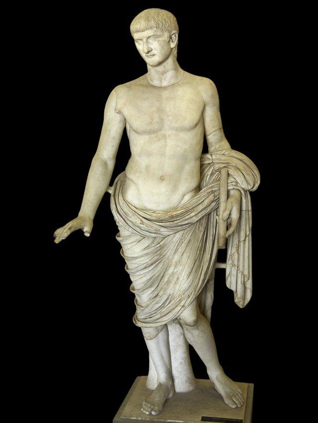 ... Emperor Tib... Emperor Nero Statue