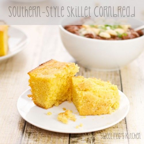 southern style skillet cornbread need to use those cast iron skillets ...