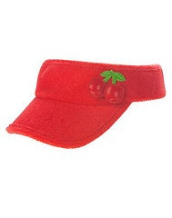 Cherry visor!