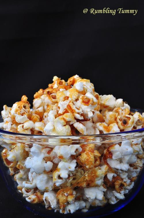 Rumbling Tummy: Salted Caramel Popcorn | Recipes - Starters Snacks 'n ...